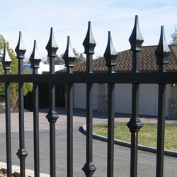 Iron Fence Beverly Hills